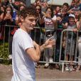 Benjamin Pavard - Le champion du monde 2018 de football Benjamin Pavard est de retour dans sa ville de Jeumont dans le Nord de la France le 18 juillet 2018. © BO/Bestimage