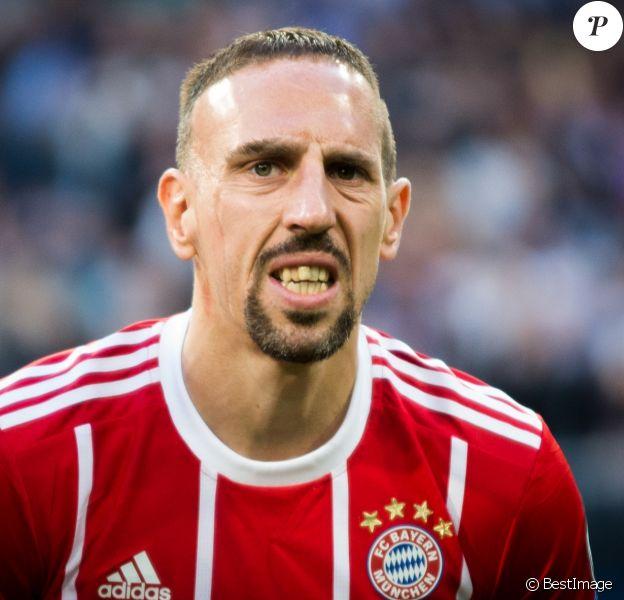 Franck Ribéry - Le Real Madrid en finale de la Ligue des champions après son match nul (2-2) contre le Bayern Munich au stade Santiago-Bernabéu à Madrid, Espagne, le 1er mai 2018.