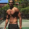 Terrence Telle joue du basket à New York - Instagram, 29 mai 2018