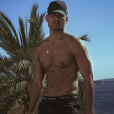 Terence Telle sexy torse nu en Espagne - 19 mai 2048, Instagram
