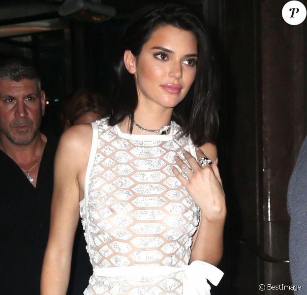 Kendall Jenner - Les célébrités arrivent à la soirée Tiffany & Co. Paper Flowers sur 5th Avenue à New York, le 3 mai 2018.