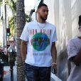 Exclusif - Ben Simmons est allé faire du shopping avec quelques amis chez Tom Ford à Beverly Hills, le 20 juillet 2018.
