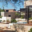 Exclusif - La villa Methoni que Cristiano Ronaldo a louée pour ses vacances à Costa Navarino en Grèce le 13 juillet 2018.