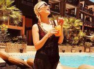 Nadège Lacroix, une bombe au soleil : Sa pose sexy au bord d'un lac