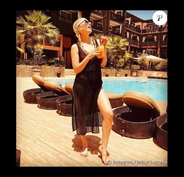 Nadège Lacroix en voyage à Marrakech - Instagram, 20 juin 2018