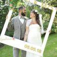 Tiffany (Mariés au premier regard) et son mari Justin - Instagram, 5 juin 2018