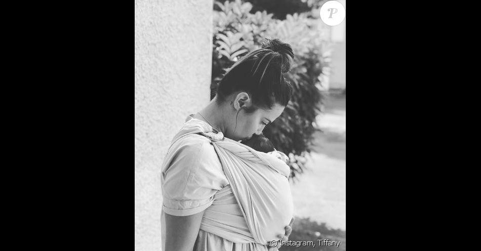 Tiffany (Mariés au premier regard) et sa fille Romy - Instagram, 22 juillet 2018