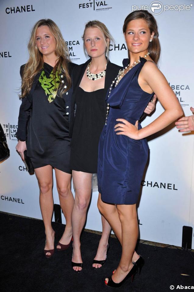 Festival de Tribeca 2009 : Grace, Mamie et Louisa Gummer