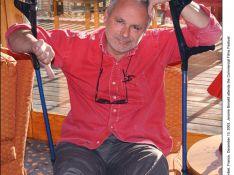 Jérôme Bonaldi s'est cassé la jambe