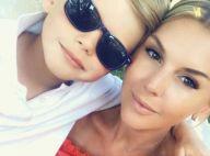 Amélie Neten : Moments complices avec son fils Hugo