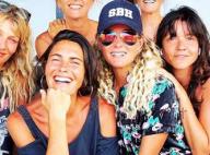 Laeticia Hallyday : Radieuse au naturel avec Alessandra Sublet et leurs amies