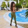 Kim Glow à Punta Cana - 10 mars 2018, Instagram
