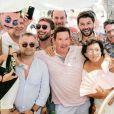 Christophe Beaugrand en vacances dans le sud avec son mari Ghislain - Instagram, 5 août 2018