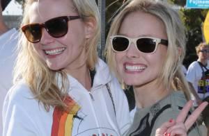 Kirsten Dunst et Kristen Bell, un duo de charme... pour une bonne cause !