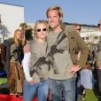 Kristen Bell est venue soutenir le fondateur de l'association Invisible Children, Jason Russell, samedi à Santa Monica