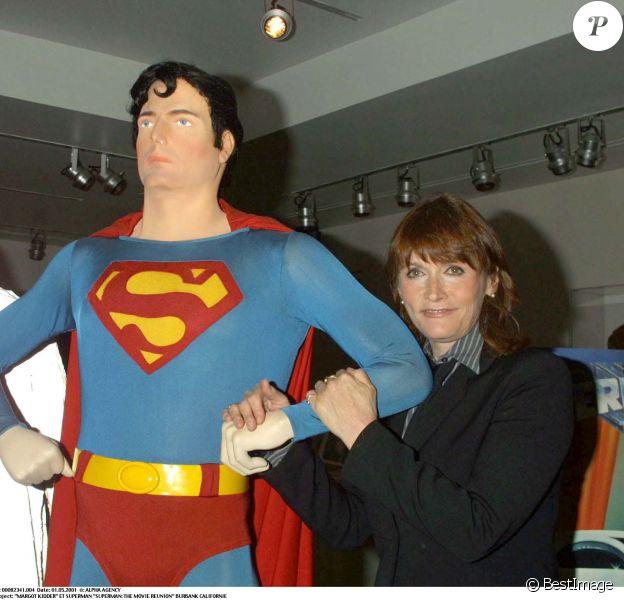 MargotKidder et Superman en 2001.