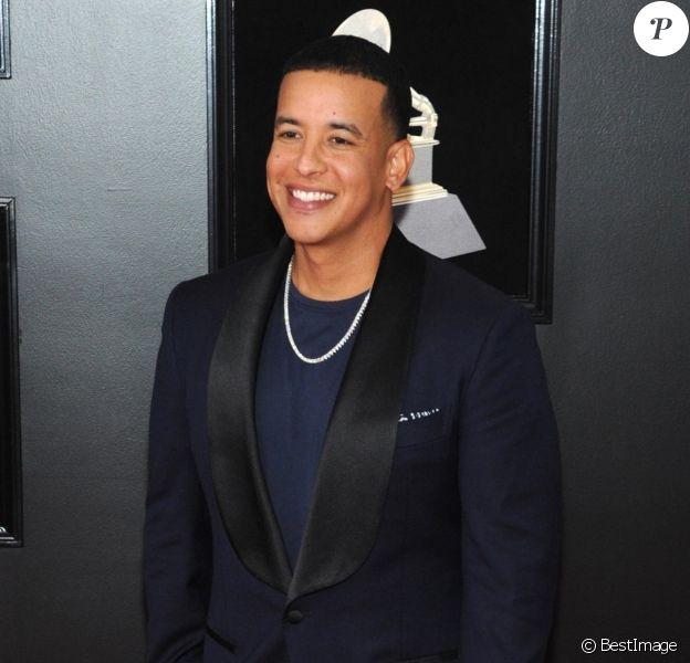 Daddy Yankee à la 60ème soirée annuelle des Grammy Awards à Madison Square Garden à New York, le 28 janvier 2018