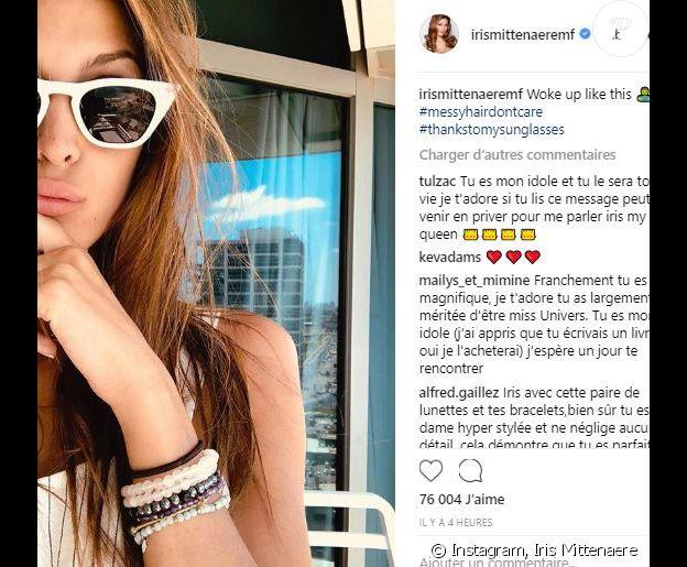 Kev Adams laisse un commentaire dans la dernière publication de sa chérie Iris Mittenaere - Instagram, 14 août 2018