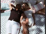 Ilona Smet : Moment tendre avec son chéri chez son père David Hallyday