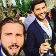 Christophe Beaugrand et son mari Ghislain - Instagram, 01 aout 2018