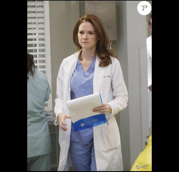 Sarah Drew interprète April Kepner dans Grey's Anatomy