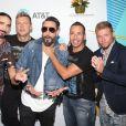 """Backstreet Boys - Arrivées des personnalités au photocall du """" iHeartRadio's KIIS FM Wango Tango by AT&T """" à Los Angeles Le 02 juin 2018"""