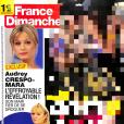 """Couverture du """"France Dimanche"""" en kiosques le 17 août 2018."""