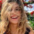 Camille Cerf en voyage à Saint-Martin - Instagram, 13 juillet 2018