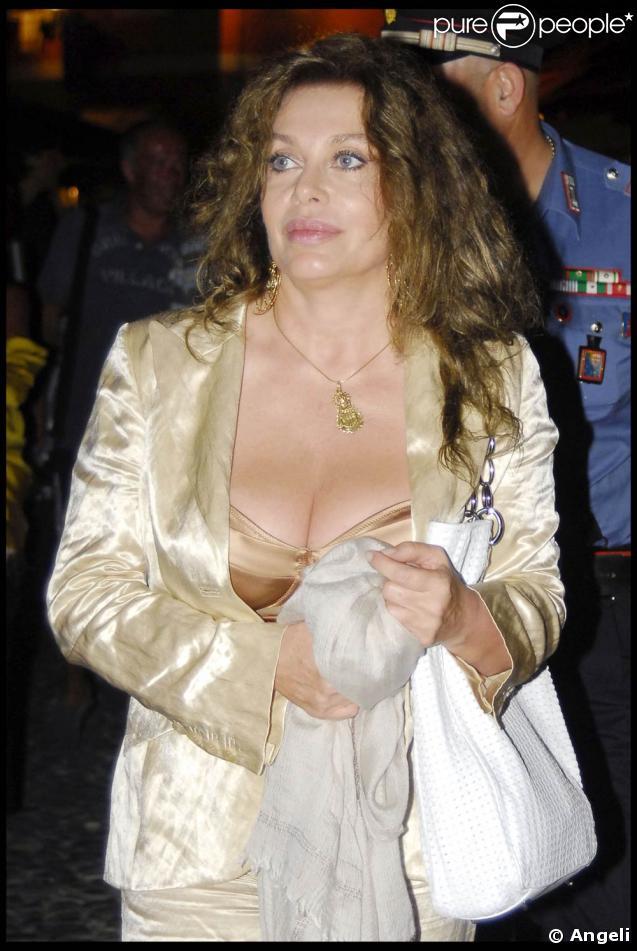 Veronica Lario, la femme de Silvio Berlusconi.