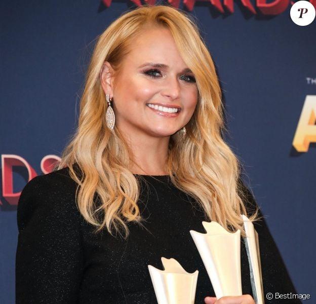 "Miranda Lambert aux ""Academy of Country Music Awards"" à Las Vegas, le 15 avril 2018."