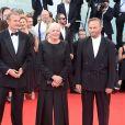Vanessa Redgrave, Franco Nero - Arrivées à la cérémonie d'ouverture du 75ème festival du film de Venise, la Mostra le 29 août 2018.