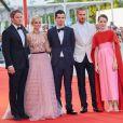Jason Clarke, Olivia Hamilton , Damien Chazelle, Ryan Gosling, Claire Foy - Arrivées à la cérémonie d'ouverture du 75ème festival du film de Venise, la Mostra le 29 août 2018.
