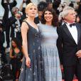 Clémence Poésy, Susanne Bier et  Alessandro  Baricco - Arrivées à la cérémonie d'ouverture du 75ème festival du film de Venise, la Mostra le 29 aout 2018.