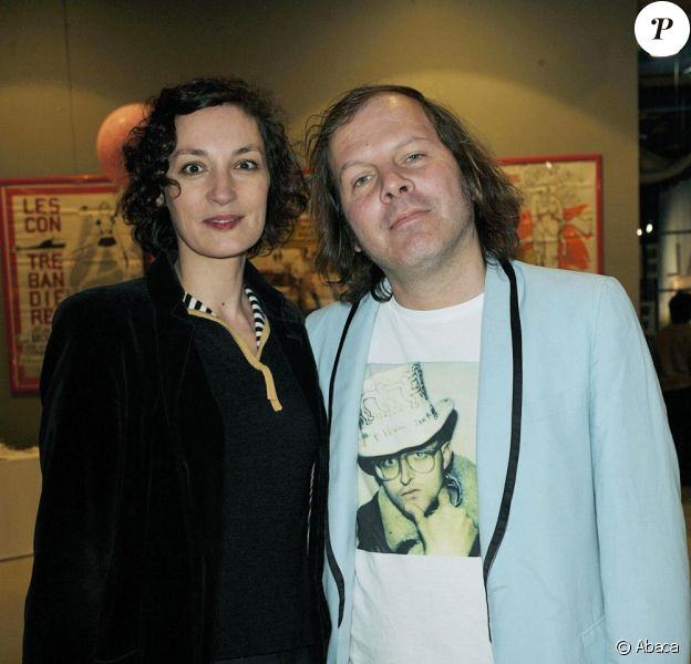 Philippe Katerine et Jeanne Balibar au centre Georges Pompidou. Avril 2008