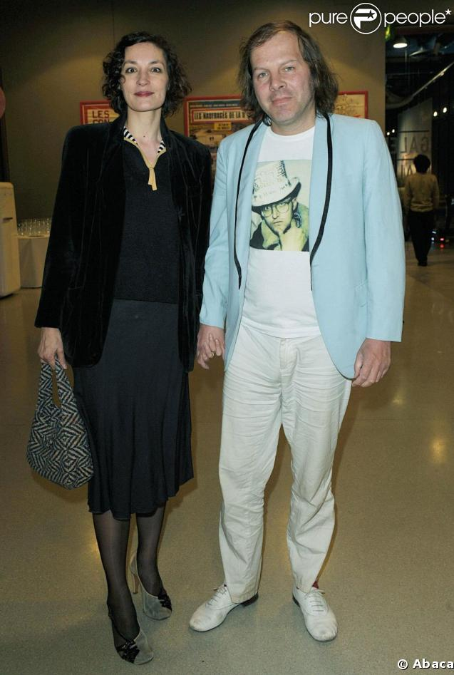 philippe katerine et jeanne balibar au centre georges pompidou avril 2008. Black Bedroom Furniture Sets. Home Design Ideas