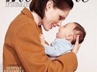 Coco Rocha : En couverture de magazine avec son bébé