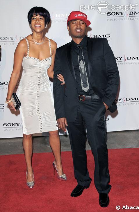 Kelis et Nas en février 2008
