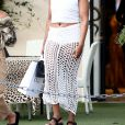 Exclusif - EJ Johnson et sa soeur Elisa Johnson font du shopping à Saint-Tropez, le 31 juillet 2018.