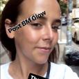 Pauline Ducruet quelques heures avant le défilé Tom Ford de la Fasion Week de New York le 5 septembre 2018, image extraite de sa story Instagram.