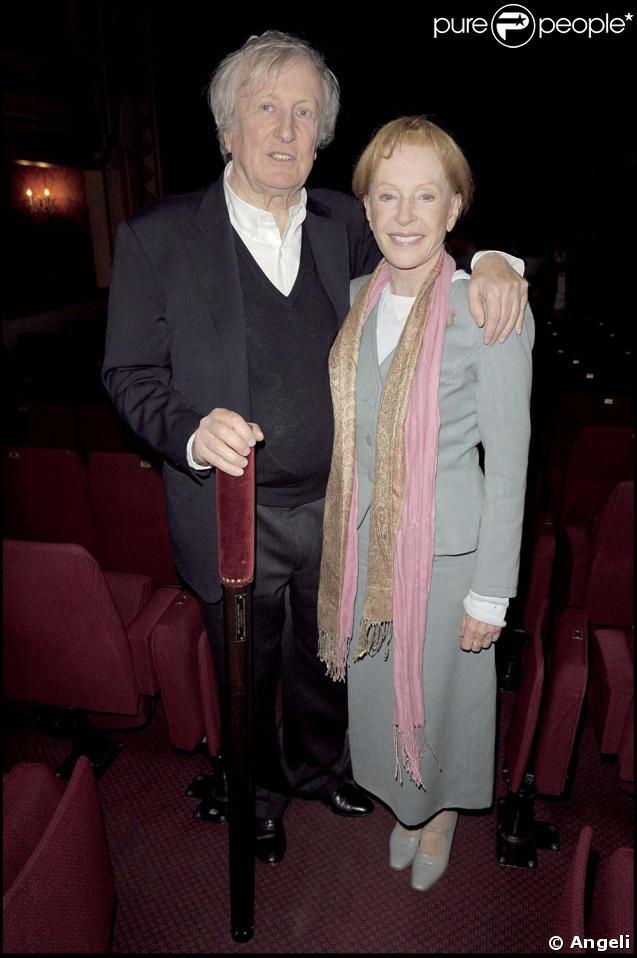 Claude Rich et sa femme Catherine
