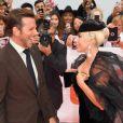 "Bradley Cooper et Lady Gaga à la première du film ""A Star Is Born"" au Toronto International Film Festival 2018 (TIFF), le 9 septembre 2018. © Igor Vidyashev via Zuma Press/Bestimage"