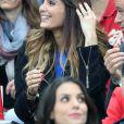 Marine Lloris (Femme de Hugo Loris) lors du match du quart de finale de l'UEFA Euro 2016 France-Islande au Stade de France à Saint-Denis, France le 3 juillet 2016. © Cyril Moreau/Bestimage