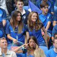 Marine Lloris (la femme de Hugo Lloris) lors du match des 8ème de finale de l'UEFA Euro 2016 France-Irlande au Stade des Lumières à Lyon, France le 26 juin 2016. © Cyril Moreau/Bestimage