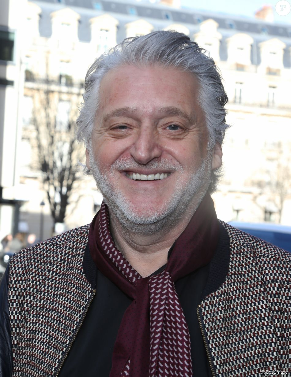 Exclusif - Gilbert Rozon à Paris le 3 février 2017.