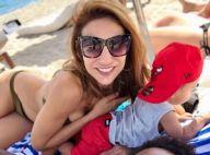 Ariane Brodier : Canon en bikini, la jeune maman a retrouvé la ligne