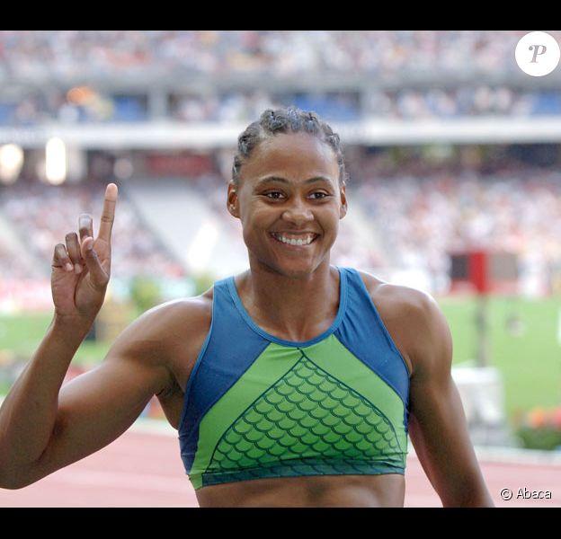 L'athlète américaine Marion Jones