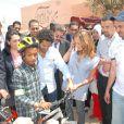 Jamel Debbouze le 23 avril au Maroc pour l'opération Vélos 2009