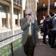 Le professeur Claude Pallanca (ex-époux d'Hélène Pastor) - Ouverture du procès de l'affaire Pastor à la cour d'Assises des Bouches-du-Rhône à Aix-en-Provence. Le 17 septembre 2018 © Franz Chavaroche / Nice Matin / Bestimage