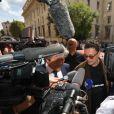 Gildo Pastor - Ouverture du procès de l'affaire Pastor à la cour d'Assises des Bouches-du-Rhône à Aix-en-Provence. Le 17 septembre 2018 © Franz Chavaroche / Nice Matin / Bestimage