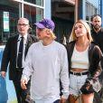 Justin Bieber et Hailey Baldwin se rendent au défilé John Elliot Fashion lors de la Fashion Week de New York City, New York, Etats-Unis, le 6 septembre 2018.